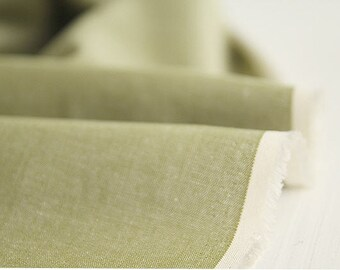 Yarn Dyed Cotton Fabric Solid - Love Green 1 Yard 13577