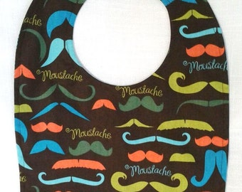 Toddler Bib-Moustaches