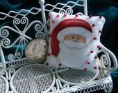 Dollhouse Miniature Pillow-Santa Claus