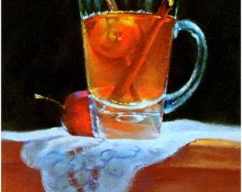 "Pastel Paint, ""Summer Drink"""
