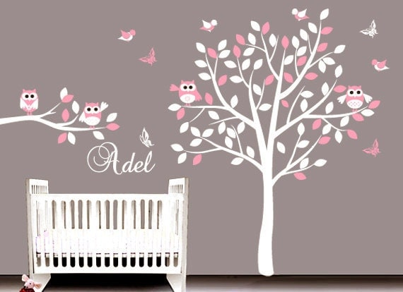 Nursery decal wall kids wall sticker vinyl by arthomedecals - Stickers etoile chambre bebe ...