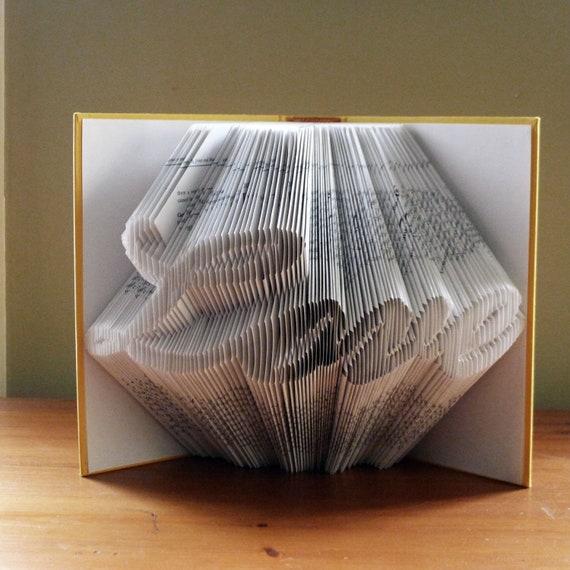 Folded Book Art Love Anniversary Gifts Boyfriend Gift