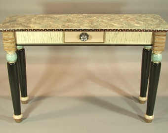 Sofa Table-Turned Legs:  Custom Made-To-Order