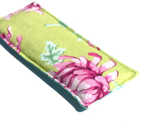 Herbal Scented Animal Eye Pillows : Relaxing Lavender Eye Pillow Soft Flannel Aromatherapy