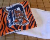 Detroit Tigers Fleece Burp Cloth Set