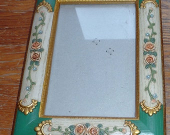 Vintage Rococco look frame for 5 by 7 inch art