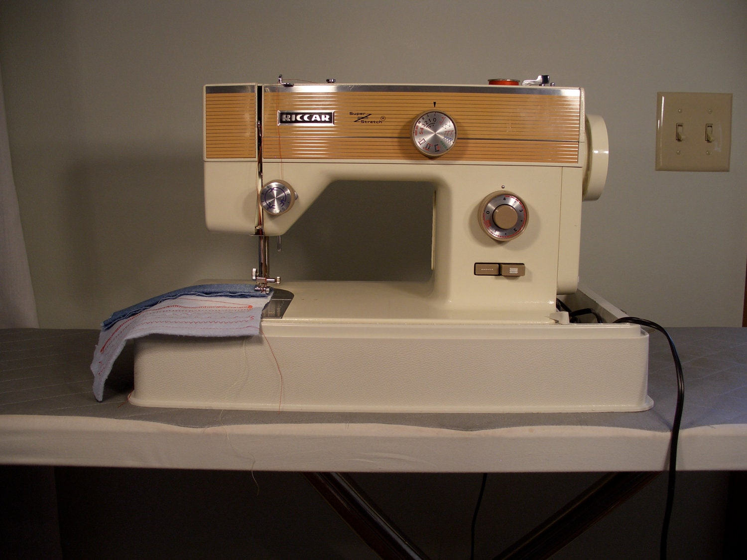 Riccar Super Stretch Sewing Machine Fully Reconditioned By