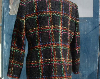 LORD TAYLOR jacket made in England never ware  size petite circa 1980's