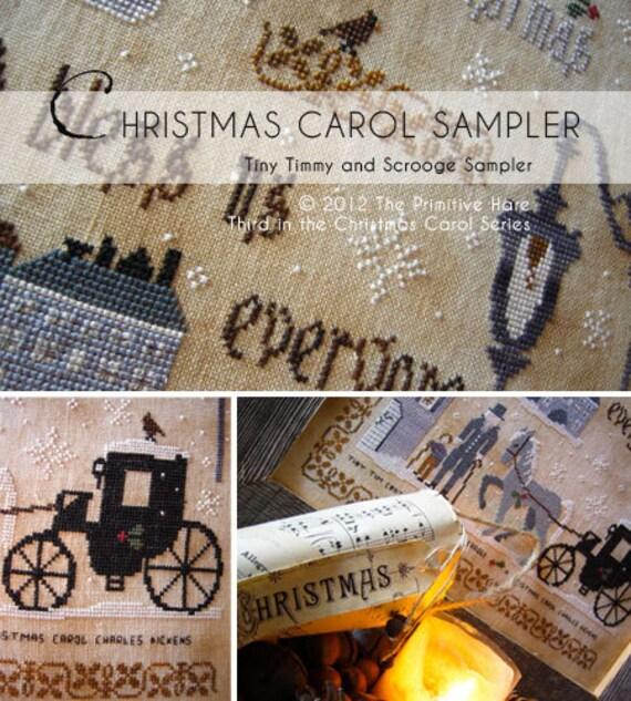 Christmas Carol Sampler: third pattern in Christmas Carol series -E pattern-