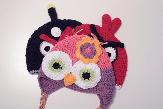 Custom order for Jaime - 3 kid hats