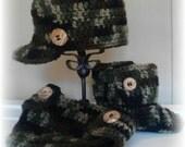 Crochet Camo Trio