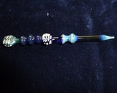 Art glass oil dabber.  Multi colored  glass dabber for perfumes and concentrates oil dabber