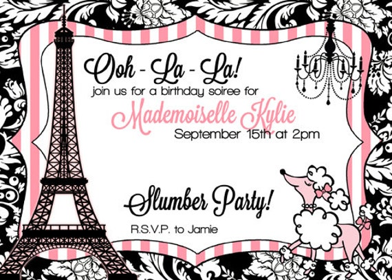 Passport Themed Invitations with adorable invitation example