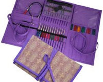 Knitters Pride Combination Knitting Needle Organizer Violet Dream