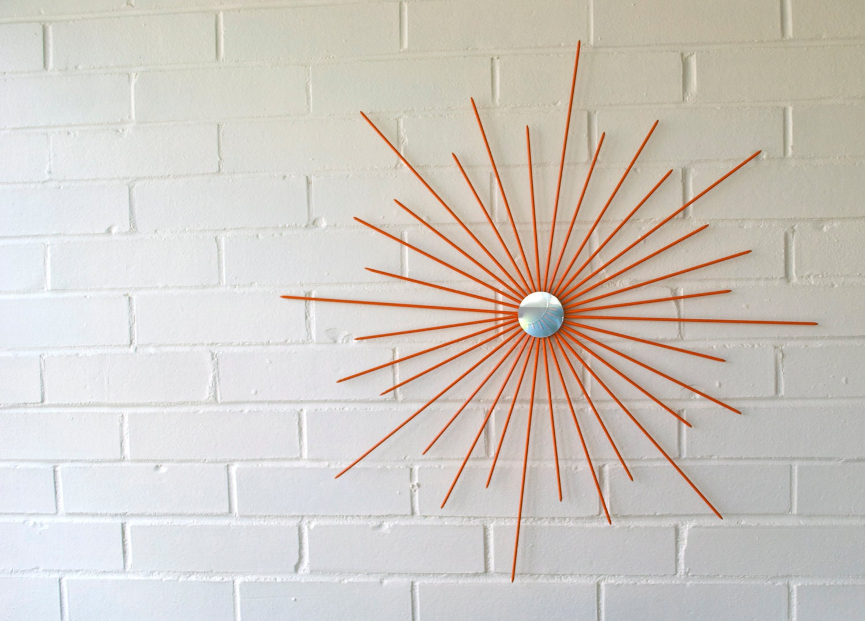26 Inch New Handmade Steel Modern Starburst Sunburst Wall Art