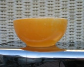 Vintage Fire King Anchor Hocking Soup or Cereal Bowl Made In USA Oven ware Fall Colors Autumn Decor