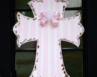 Baby Girl Hospital Door Hanger, Baby Girl Room Decor