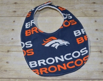 Denver Broncos Baby Bib