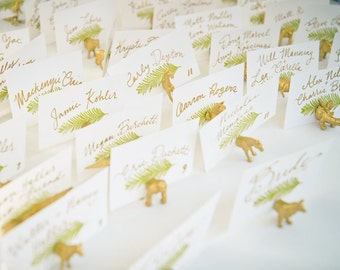 Escort Card Holders for Wedding Place card Holders - 25 full animal holders