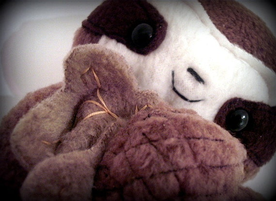 Sale was 16.99 now 12.99 Limited Sloth - Autumn Cuddles Cedric The baby sloth