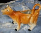 Kitchy Vintage cow creamer, MOOoo MOOoo, adorable, made in Japan