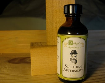 Soothing Aftershave 2 ounce bottle