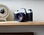 Pentax K1000 & Pentax-M 1:2 50mm Lens, Free Film