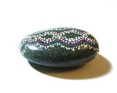 ON SALE 25% RNA chains / Hand painted stone by circle and the dot