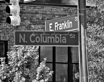 Franklin Street Sign 2 UNC-Chapel Hill, North Carolina multiple Sizes Available-Fine Art-Landmark,Tarheels,UNC