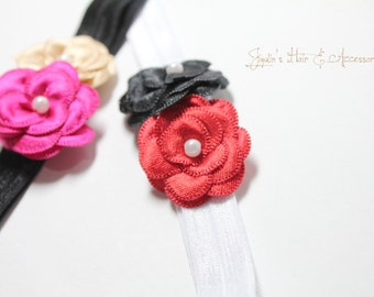 Baby girl/children headband - Flower bundle