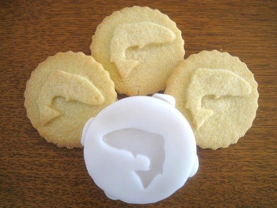HOUSE TULLY inspired COOKIE Stamp recipe and instructions - make your own Game of Thrones inspired Cookies