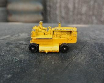 "Vintage 1960's Lesney ""Caterpillar"" Toy Car"