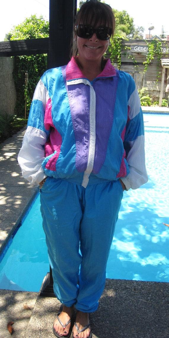Vintage 1980 S Bocoo Nylon Jogging Suit