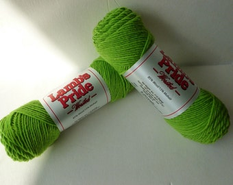 Yarn Sale  - Limeaid Lamb's Pride Worsted by Brown Sheep Company