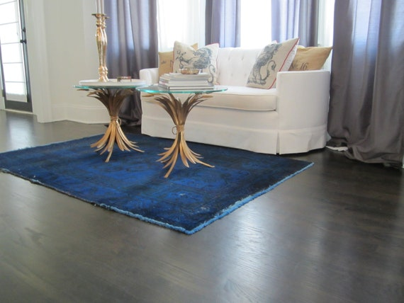 4' x 6' Custom Overdyed Carpet- Your Color Choice
