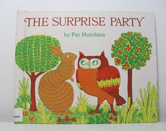 The Surprise Party by Pat Hutchins 1991 Vintage Children's Picture Book