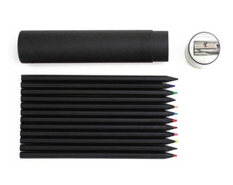G2002 Black Color Pencil Set