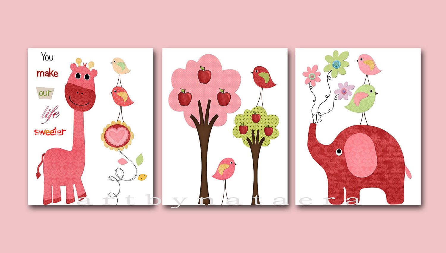 Baby girl room decor baby girl nursery print baby nursery for Baby room decoration accessories