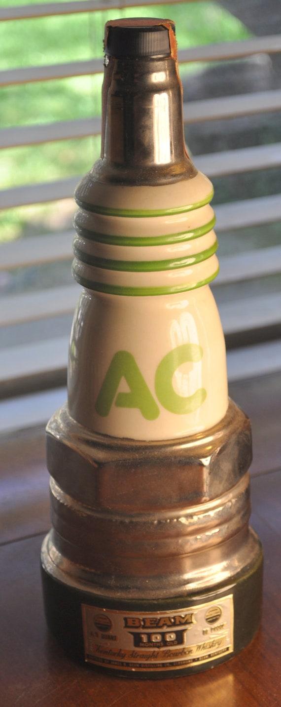 Vintage Jim Beam Ac Delco Spark Plug Decanter By Tumptover On Etsy