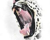Leopard - archival print