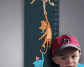 Personalized Growth Chart - Hanging Out With Friends