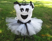 Friendly Ghost Tutu Costume