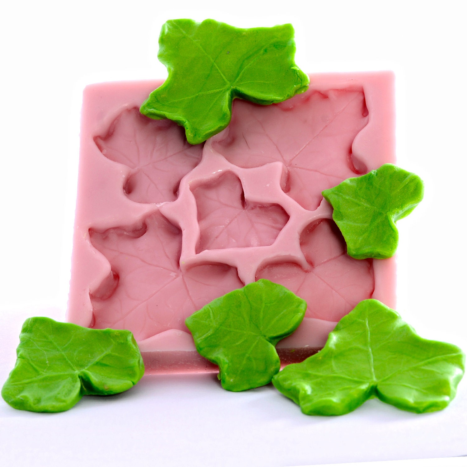 Ivy leaf mold fondant mold gum paste mold by moldmeshapeme - Ivy interior design software reviews ...