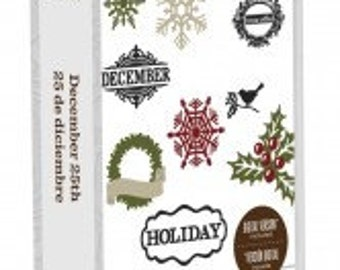 Cricut Cartridge -TERESA COLLINs -  DECEMBER 25th- CHRISTMAS   - NeW  and Sealed