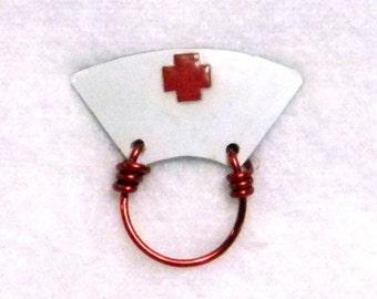 Old Fashioned Nurse Cap Eyeglass Holder