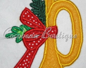 embroidery applique horn