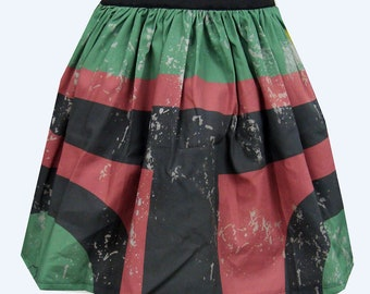 Printed Bounty Hunter Inspired Skirt