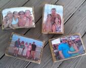 Your Custom Photo transferred onto Reclaimed Ocean City Boardwalk Wood