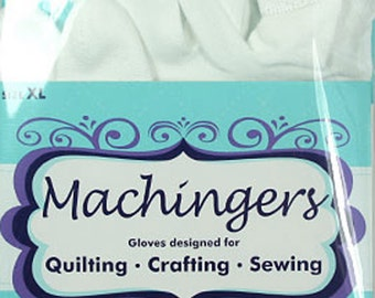 Machingers XL Gloves, Sewing, Crafting, DIY, Quilter's Touch, Machine Quilting Gloves