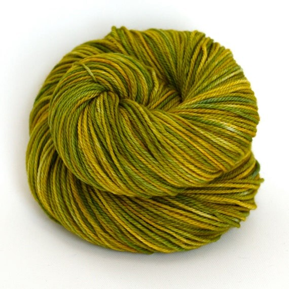 Hand Dyed Superwash Merino Wool DK / Sport Yarn - Willow